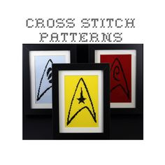 Starfleet Badge Cross-Stitch | Star Trek