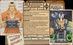 Arkham Files - Bane by Roysovitch on DeviantArt