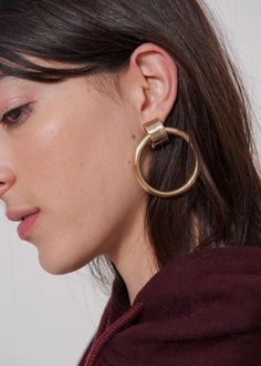 Laura Lombardi Ruota Hoop Earrings – The Frankie Shop