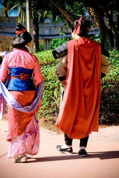 Shang and Mulan together