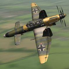 Prototipo Do-335 Pfeil, seguido de variantes de producción es completo, a continuación, una serie de prototipos basados en la mejora de las aeronaves existentes para facilitar la producción y la intercambiabilidad de las piezas. Para reemplazar el Stuka bombardero muy anticuado fuera y el envejecimiento, la Luftwaffe adopta el Ju-287 Staghund. Basado en un diseño de ala y objeto similares pero con un motor mucho más potente y secundaria de refuerzo de inyección de agua, el Ju-287…