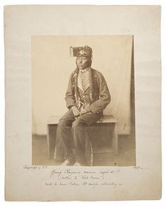 Brother of Red Moon - Southern Cheyenne - 1869