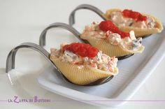 Conchiglioni ripieni- Stuffed seashells