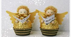 DIY Ferrero Rocher Gift Ideas – Edible Crafts This round up shows you creative ways to gift Ferrero Rocher chocolates. We have covered how to make trees, Christmas tree's cakes and even Ferrero Rocher Angels. These are such fun way to gi… Easy Christmas Crafts, Homemade Christmas Gifts, Christmas Projects, Homemade Gifts, Handmade Christmas, Christmas Decorations, Christmas Ornaments, Christmas Trees, Christmas Recipes