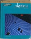 Foerster's Algebra 1 with a Home Study Companion (video lessons) by David Chandler - and yet another math option....decide already!