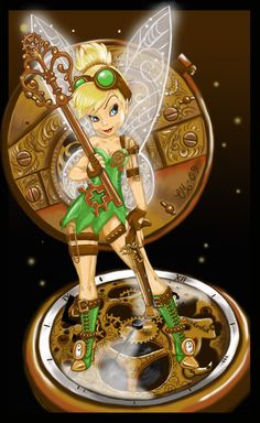 Tinker Fairy 2. Bapbap Tinkerbell turned rebel.