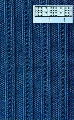 """Knit and purl """"Knit stitch pattern More"""", """"Rigtigt og forkert (Part Two) - Strikning - hjemme Moms"""", """"Very easy stitch pattern in knits and purls"""" Knitting Stiches, Knitting Charts, Lace Knitting, Crochet Stitches, Knit Crochet, Knitting Machine, Vintage Knitting, Easy Knitting Projects, Knitting Designs"""