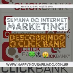 Participe AGORA da Semana Gratuita do Internet Marketing!  Acesse: http://ift.tt/2cftnKK  #marketingdigital #empreendedorismo #hotmart #clickbank #eduzz #monetizze