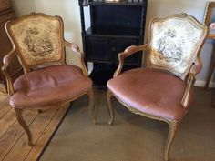 Vintage-French-chairs