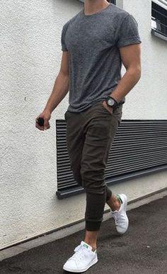 Dicas para usar calça jogger masculina #MensFashionShorts
