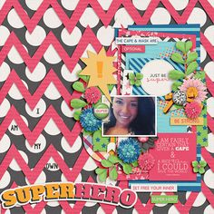 Super Duper - Elements by Tickled Pink Studio Super Duper - Journal Cards by Tickled Pink Studio Super Duper Papers by Tickled Pink Studio Bric.a.Brac by Zoliofrope Font: KG Tangled Up In You Layout by emmyxlou