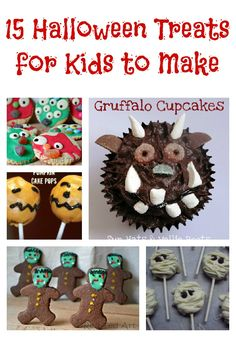 15+ Halloween treats for kids to help make