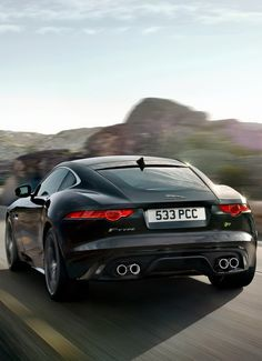 I want this Jaguar F-Type Coupe R  - Drove the V8 convertible which was unreal.