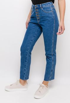 Mom Jeans, Trousers, Pairs, Denim, Chic, Womens Fashion, Casual, Shopping, Collection