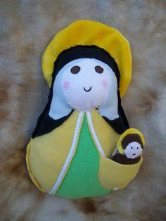 Hey, I found this really awesome Etsy listing at https://www.etsy.com/listing/229370089/saint-doll-st-elizabeth-soft-catholic