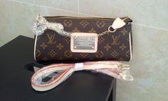 Replica Louis Vuitton Monogram Canvas Sophie Pochette.$140+FREE shipping+on-line payment
