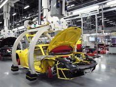 New assembly line for Ferrari