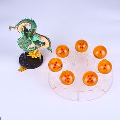 Dragon Ball Z Figues The Display Shelf Toys Stars Crystal Shenlong 4.3cm Acrylic Star Style Anime Dragonball Z for Dragon Action #Affiliate