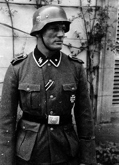 "deutschnord: "" A soldier of the Waffen-SS """