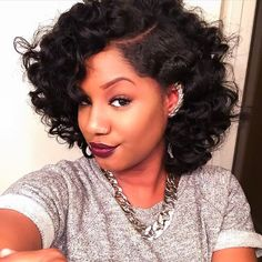 Black Curly Hairstyles very long curly hairdo for black women 20 Bob Styles That Will Make You Head Out And Buy Some Scissors Right Now Hairstyles For Relaxed Hairblack Curly