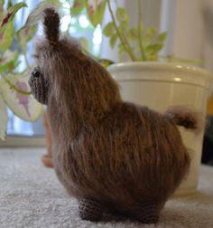 (4) Name: 'Crocheting : Fluffy the Alpaca-Llama Amigurumi Croche