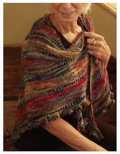 Ravelry: Garden Party Shawl pattern by Katie Nagorney and Ann Swanson