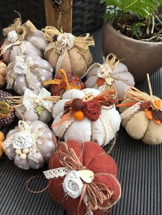 Fall Pumpkin Crafts, Autumn Crafts, Fall Pumpkins, Christmas Crafts, Cute Crafts, Diy And Crafts, Dulceros Halloween, Pumpkin Pictures, Fall Sewing