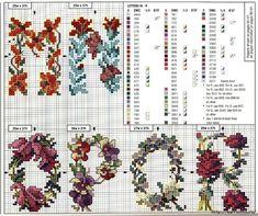 Красивая цветочная вышивка - АЛФАВИТ (24) (700x586, 444Kb)