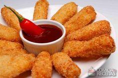 Receita de Chicken fingers em receitas de aves, veja essa e outras receitas aqui!