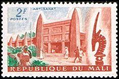 Mali 18 Stamp Mali Art Museum Stamp AF MAL 18-1 MH (http://www.bmastamps2.com/stamps/africa/mali/mali-18-stamp-mali-art-museum-stamp-af-mal-18-1-mh/)