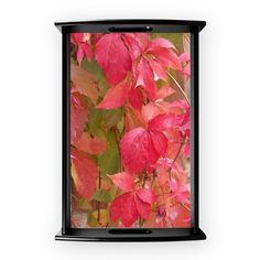 Red Leaves Coffee Tray on CafePress.com