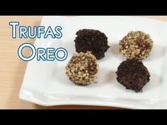 ▶ Trufas de Galletas de Chocolate Oreo - YouTube
