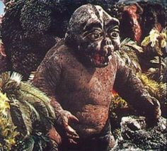 Minya, Son of Godzilla. Poor little guy got a raw  deal  even when his dad tried to take care of him!  :(