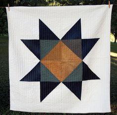 Jackson Star quilt by Folk Fibers