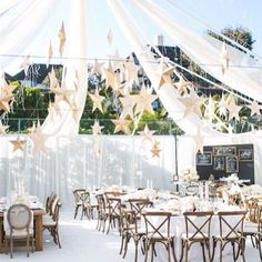 How magical is this Starry Tent?! see more: http://thebridaldetective.com/take-cover-tantalizing-tents-part-ii/