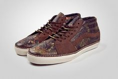 Horween Leather x Vans Vault 'Brushed Camo'