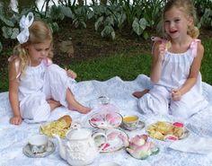little girls tea party :)