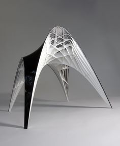 #3D #Printed abstract furniture piece http://www.mylocal3dprinting.com #industrial #design