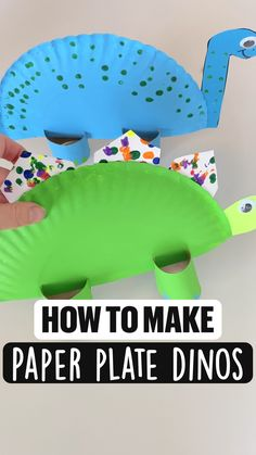 Learning Games For Toddlers, Preschool Learning Activities, Preschool Themes, Preschool Classroom, Preschool Crafts, Toddler Activities, Dinosaur Activities, Paper Plate Crafts, Kindergarten Art