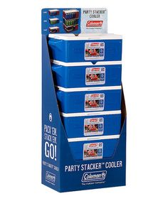 Another great find on #zulily! Blue 24-Can Party Stacker Cooler #zulilyfinds