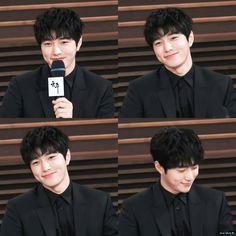 Cute! 😘 #L #Kimmyungsoo #myungsoo #infinite Kim Myungsoo, L Infinite, Woollim Entertainment, Lee Sung, Kdrama Actors, Dimples, Friends Forever, Singer, Kpop