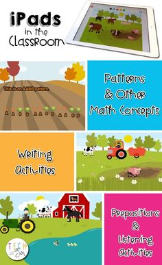 iPads in the Classroom: Teaching Prepositions, Math Concepts, and Writing in Creative Ways #TechwithJen