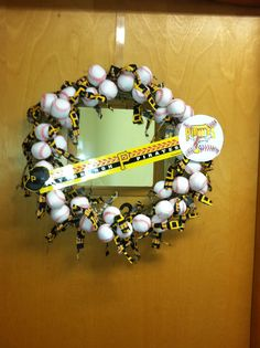 Pittsburgh Pirates wreath