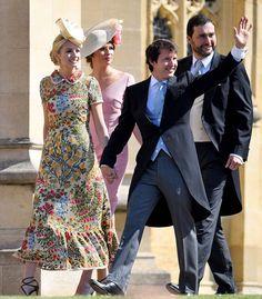 Sofia Wellesley & James Blunt @ Royal Wedding
