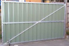 Image result for high colorbond gates