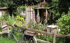 Der Bauerngarten lässt uns von der Unbeschwertheit längst vergangener Tage träumen