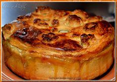 Tourte aux boudins blancs et cèpes Vol Au Vent, Cuisine Diverse, Pie Recipes, Risotto, Entrees, French Toast, Doria, Baking, Breakfast