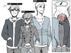 """Height by Freed-Alice on deviantART Lololol Nico>>>>Are we not gonna talk about the fact that they're hands are """"there""""?"""