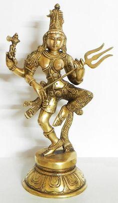 Ardhanarishwara - Brass Sculpture