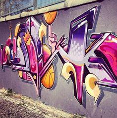 Graffiti Art Wall  Freedom Of Expression  MOSAIK